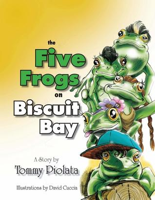 The Five Frogs on Biscuit Bay Book Cover