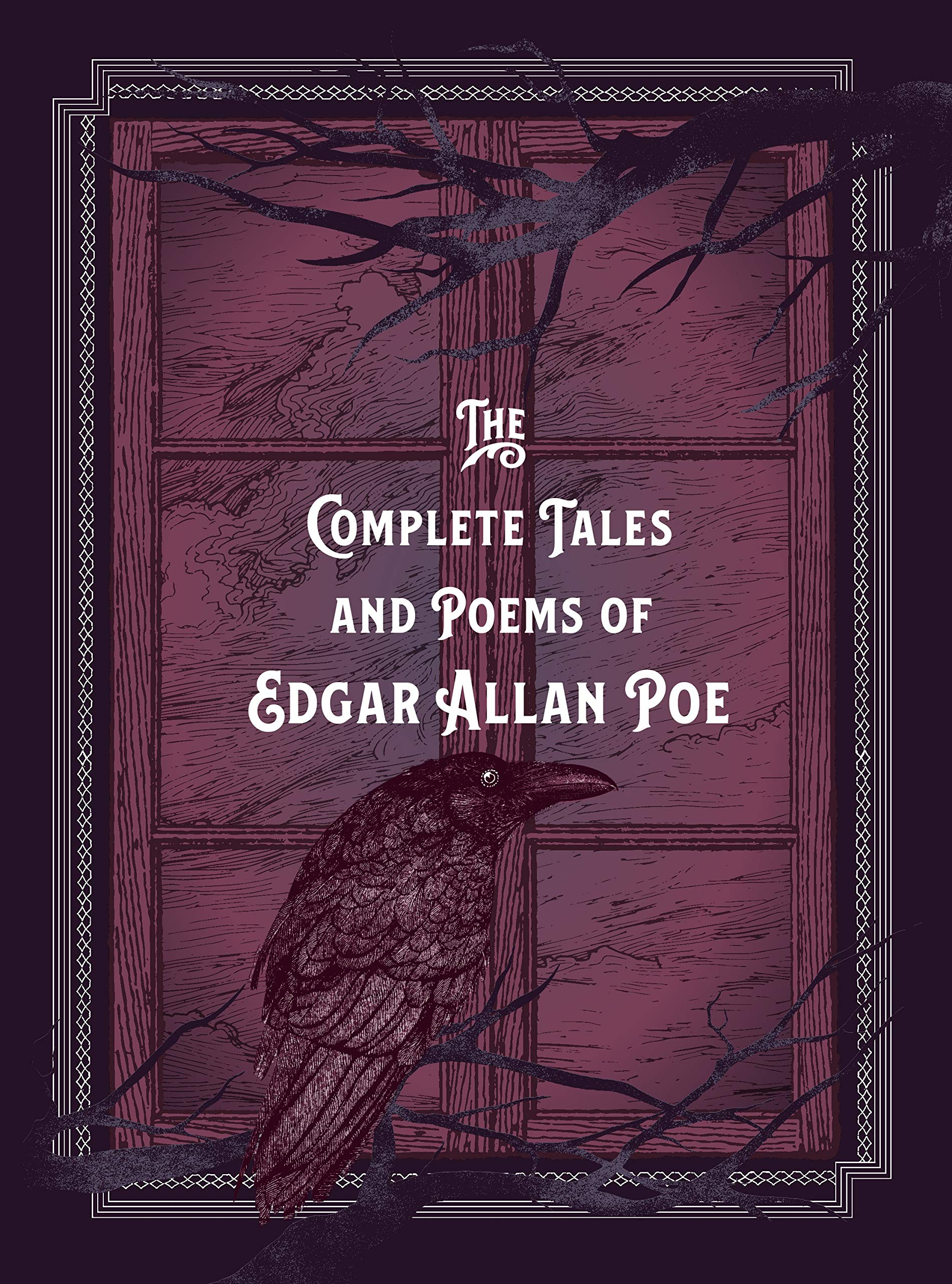 The Complete Tales & Poems of Edgar Allan Poe Book Cover